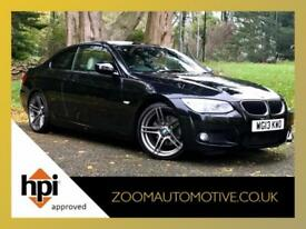 2013 BMW 3 SERIES 320d M SPORT COUPE AUTOMATIC PADDLE SHIFT BIG SPEC - PRO NAV
