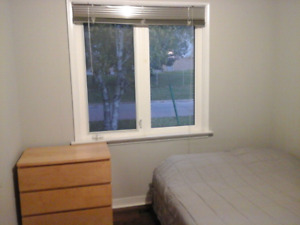 Yonge & Finch large bedroom with a private bathroom for rent