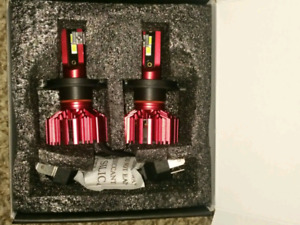 H4 LED Headlight Bulbs -Brand New