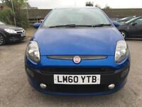 2011 Fiat Punto Evo Hatch 3Dr 1.4 8V 77 SS EU5 Active Petrol blue Manual