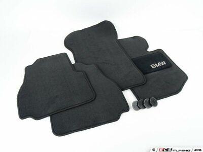 Genuine BMW - Carpeted Floor Mat Set - Black - 82111468282