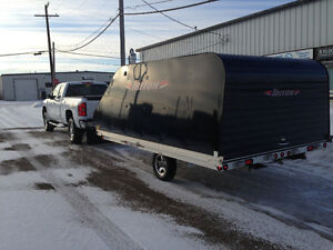 2009 12 FOOT TRITON ENCLOSED DRIVE IN DRIVE OUT(HARD TO FIND)