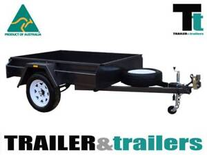6x4 Heavy Duty Single Axle Checker Plate floor Thomastown Whittlesea Area Preview