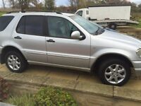 Mercedes ml automatic 7 seater
