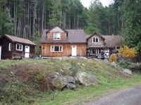 6 Bed 5 Bath on 40 Acres at Shawnigan Lake