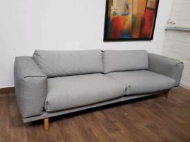 Muuto Rest 3 seater sofa in Grey Kvadrat fabric RRP £3648