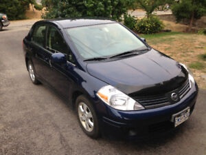 2007 Nissan Versa SL - 114,000 kms - Well Maintained