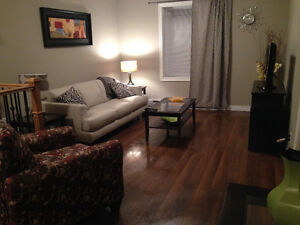 Spacious Furnished 3 bedroom top level of house Downtown area