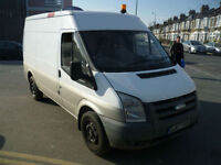 Ford Transit 145 t300 mwb rwd 2007 / 57 lpg fitted