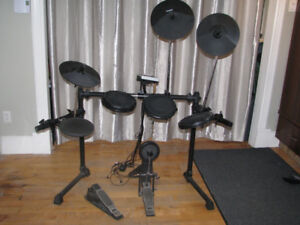 Batterie électronique 8 pads Alesi, ensemble V-Drum et snare