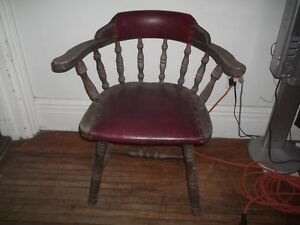 Rustic Captains Chair