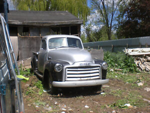FOR SALE 1950 GMC 1/2 TON PICKUP RESTORED
