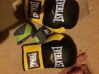 Brand new everlast teenager boxing gloves