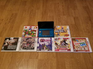 3DS  For Sale With Games Priced Separately