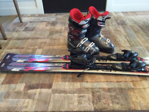 Rossignal skis boots bindings