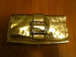 Gold Makeup Bag/Clutch Purse Oakville / Halton Region Toronto (GTA) image 2