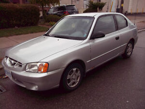 2001 Hyundai Accent Hatchback DON'T MISS THIS CHANCE