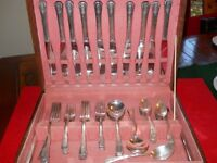coutellerie oneida silver plate