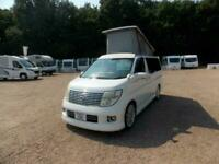 Nissan El Grand 2.5 V6 Pop Top camperavn.