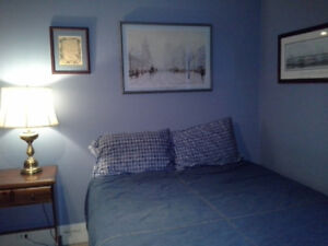 Room for rent in private home, west saint john, 500 / month.
