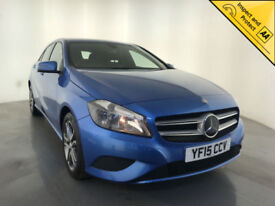2015 MERCEDES-BENZ A180 BLUEEFICIENCY SPORT CDI DIESEL 1 OWNER SAT NAV