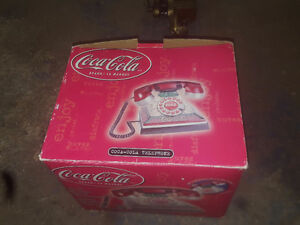 coca cola telephone in the box