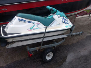 94 seadoo sp clean and ready for the water, no trailer