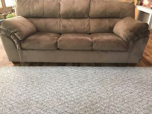 Micosuede Hideabed Couch  & Loveseat