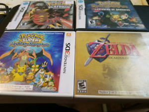 DS and 3DS Games For Sale