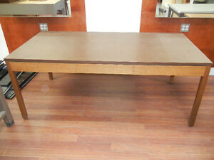 Walnut work table/dining table