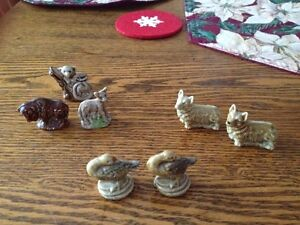 WADE FIGURINES 1960's - 1970;s from Red Rose Tea