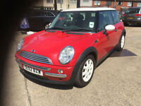 2002 Mini 1.6 Cooper 91,000 miles, full history, LADY OWNER 7 YEARS, HPI CLEAR