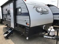Camping trailer rentals at great rates in Sudbury!