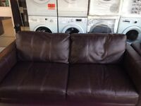 ***NEW EX DISPLAY 3 seater leather sofa for SALE***