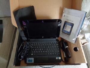 Hp Mini 110 Duo Core Laptop in the box