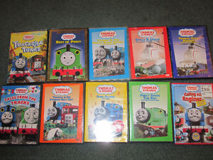 Thomas the Tank Engine DVDs - set of 10