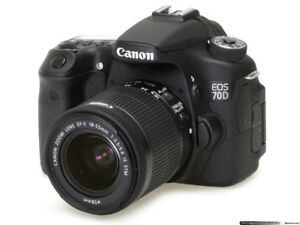 Canon EOS 70D Digital SLR Video Camera [ Bundle/Ensemble ]