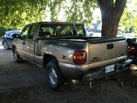 2003 GMC Sierra 4x4 1500 SLT Pickup Truck step side