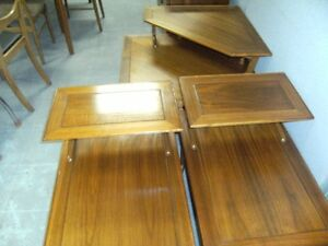 WALNUT COFFEE TABLE & END TABLE SET BY LANE Peterborough Peterborough Area image 5