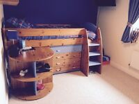 Children's Stompa Bed and matching furniture