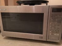 Full Stainless steel Microwave oven