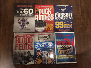 Lot of 6 Brand New Hockey News Best of Books