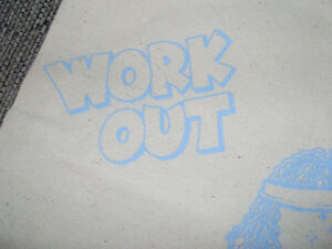 Child's new Canvas Work-out or Gym Bag