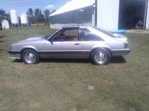 REDUCED $1000.00 -FACTORY ORIGINAL 1982  MUSTANG GT 5.0L