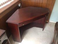 Furniture desk and book shelf