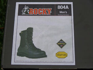 Men's Rocky Winter Leather Police Boots, Brand New!!!! REDUCED!! Kitchener / Waterloo Kitchener Area image 6