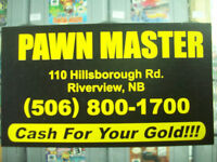 PAWNMASTER WE PAY CA$H FOR YOUR WINTER TIRES