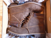 "BRAND NEW Men's Timberland 6"" Chocolate Brown Camo Boots Size 11"