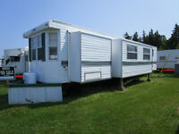 39' Park Model trailer located at Ocean View campground