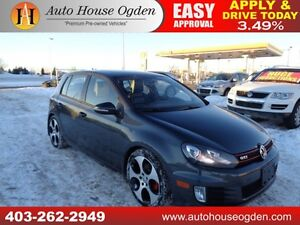 2010 Volkswagen GTI Leather Sunroof Bluetooth Heated Seats
